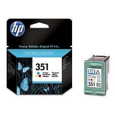 Tusz CB337EE  Nr 351 kolor do HP Business InkJet D4300, DeskJet D4260, OfficeJet J5780 J5785, PhotoSmart C4270 C4580