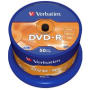 DVD-R 4.7GB Verbatim x16 cakebox 50szt