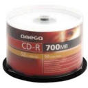 Dysk CD-R 700MB Omega 52x Cake Box 50 szt