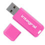 Integral różowy pendrive Neon 16GB USB 2.0