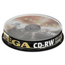 Dysk CD-RW 700MB Omega 12x Cake Box 10 szt.