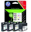 Tusz  HP Officejet 6100 6600 6700 7110 7510 7610 4-pack 932XL + 933XL