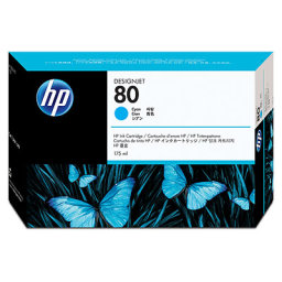 Tusz do HP Designjet 1050c plus 1055cm plus C4872A HP 80 cyan 175ml
