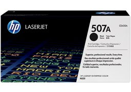 Toner czarny CE400A 507A HP LaserJet Enterprise 500 color M551