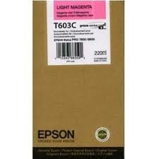 Tusz do Epson Stylus Pro 7800 9800 T603C light magenta 220ml C13T603C00
