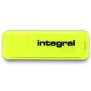 Pendrive Integral Neon 16GB USB 2.0 yellow