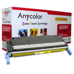 Toner HP Color LaserJet 5500 5550 żółty